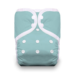 Aqua, Thirsties One Size Snap Pocket Diaper, www.bellylaughs.ca