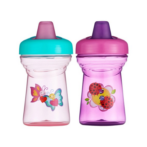The First Years Simple Sippy Soft Spout Sippy Cup (2-pack)