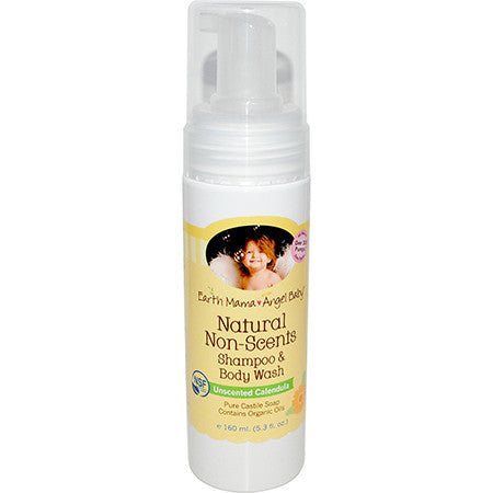 Angel Baby Natural Non Scents Shampoo & Body Wash - Belly Laughs - Maternity, Baby and Kids Store Canada