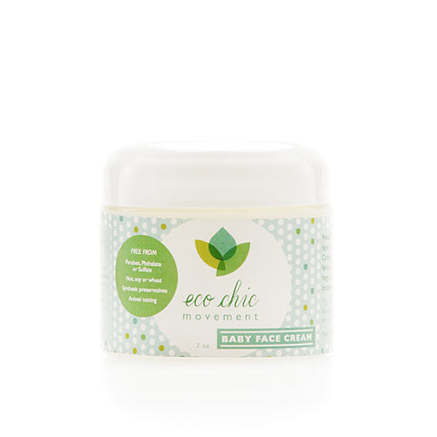 Eco Chic Movement Baby Face Cream