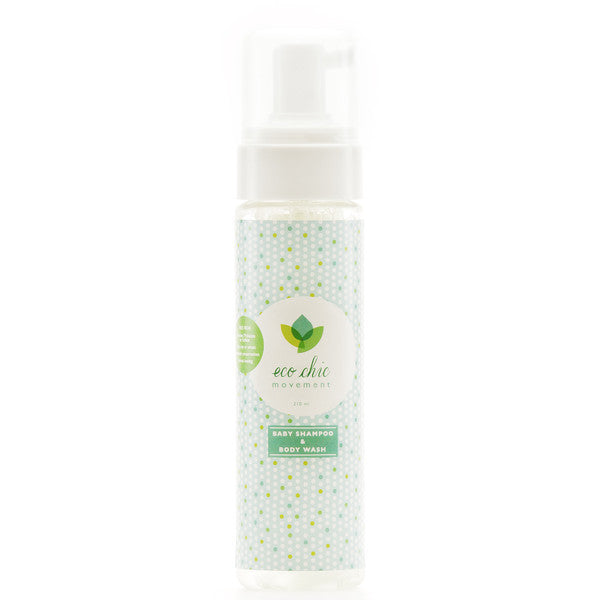 , Eco Chic Movement Baby Shampoo & Body Wash, www.bellylaughs.ca