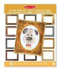 , Melissa & Doug Picture Frame Pad, www.bellylaughs.ca