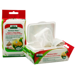 , Aleva Naturals Bamboo Baby Hand 'n' Face Wipes, www.bellylaughs.ca