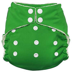 Imagine All in One Bamboo Diaper Emerald - Belly Laughs - A Children's & Maternity Boutique - Canada - 9