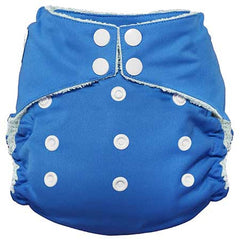 Imagine All in One Bamboo Diaper Indigo - Belly Laughs - A Children's & Maternity Boutique - Canada - 12