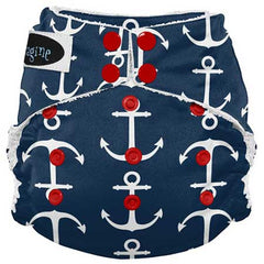 Imagine All in One Bamboo Diaper Overboard - Belly Laughs - A Children's & Maternity Boutique - Canada - 5