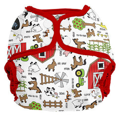 Barnyard Jam, Imagine All-in-Two Cloth Diaper, www.bellylaughs.ca