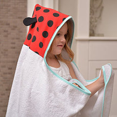 JJ Cole Little Hooded Towel  - Belly Laughs - A Children's & Maternity Boutique - Canada - 5