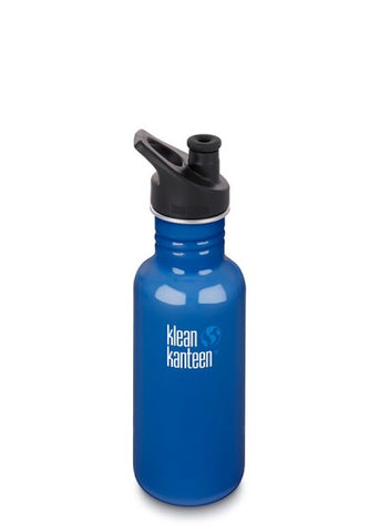 Klean Kanteen Stainless Steel Sport Water Bottles