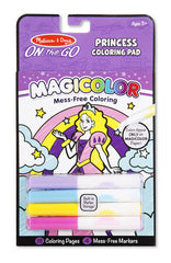 Princess, Melissa & Doug Magicolour Colouring Pad, www.bellylaughs.ca