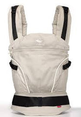 Manduca Baby and Toddler Carrier Pure Cotton Desert Sand - Belly Laughs - A Children's & Maternity Boutique - Canada - 3