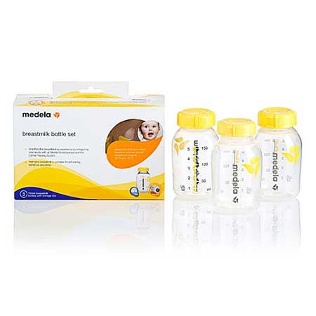 Medela Breastmilk Bottle Set 150ml 3 pack