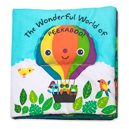 K's Kids Soft Activity Book - The Wonderful World of Peekaboo!