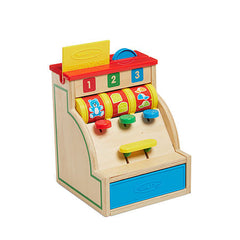 Melissa & Doug Sort & Swipe Wooden Cash Register  - Belly Laughs - A Children's & Maternity Boutique - Canada - 3