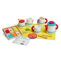 Melissa & Doug Wooden Steep & Serve Tea Set  - Belly Laughs - A Children's & Maternity Boutique - Canada - 3