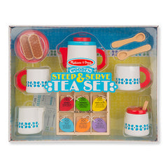 Melissa & Doug Wooden Steep & Serve Tea Set  - Belly Laughs - A Children's & Maternity Boutique - Canada - 1