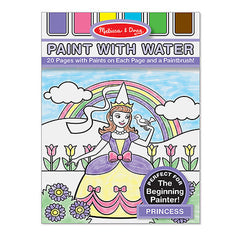 Princess, Melissa & Doug Paint With Water Pads, www.bellylaughs.ca