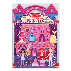 Princess, Melissa & Doug Puffy Stickers Play Set, www.bellylaughs.ca