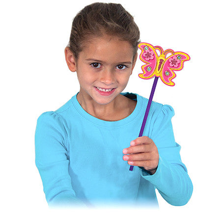Melissa & Doug Simply Crafty - Whimsical Butterfly Wands