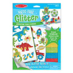 Adventure, Melissa & Doug Mess-Free Glitter Foam Stickers, www.bellylaughs.ca