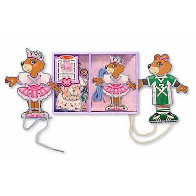 Melissa & Doug Dress-Up Lacing Bear