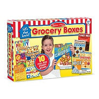 Melissa & Doug Let's Play House! Grocery Boxes