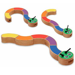 Melissa & Doug Caterpillar Grasping Baby Toy  - Belly Laughs - A Children's & Maternity Boutique - Canada - 1