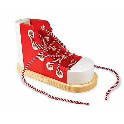 Melissa & Doug Lacing Sneaker  - Belly Laughs - A Children's & Maternity Boutique - Canada