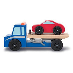 Melissa & Doug Flatbed Tow Truck  - Belly Laughs - A Children's & Maternity Boutique - Canada - 3