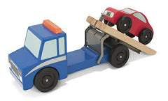 Melissa & Doug Flatbed Tow Truck  - Belly Laughs - A Children's & Maternity Boutique - Canada - 1