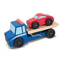Melissa & Doug Flatbed Tow Truck  - Belly Laughs - A Children's & Maternity Boutique - Canada - 2