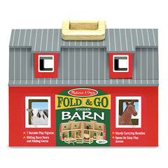 Melissa & Doug Fold & Go Barn  - Belly Laughs - A Children's & Maternity Boutique - Canada - 1