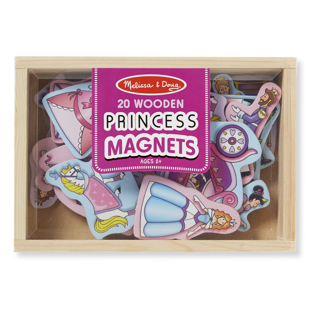 Princess, Melissa & Doug Wooden Magnets, www.bellylaughs.ca