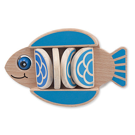 Melissa & Doug Flapping Fish Baby & Toddler Toy
