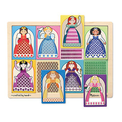 Princesses, Melissa & Doug Peek-Through Puzzles, www.bellylaughs.ca
