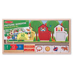 Melissa & Doug Picture Window Sound Sorting Set  - Belly Laughs - A Children's & Maternity Boutique - Canada