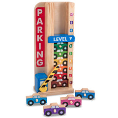 Melissa & Doug Stack & Count Parking Garage  - Belly Laughs - A Children's & Maternity Boutique - Canada - 2