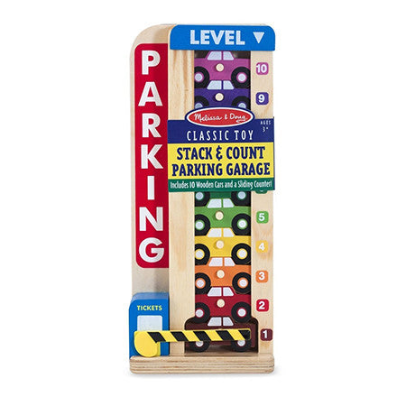 Melissa & Doug Stack & Count Parking Garage  - Belly Laughs - A Children's & Maternity Boutique - Canada - 1