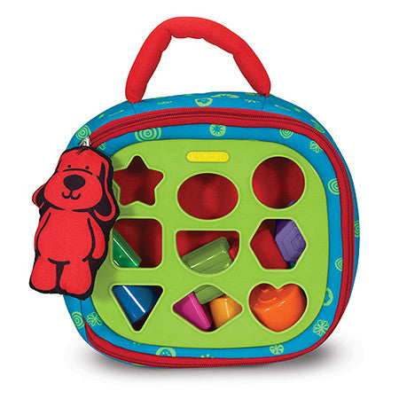 K's Kids Take-Along Shape Sorter Baby and Toddler Toy