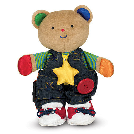 K's Kids Teddy Wear Toddler Learning Toy