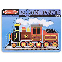 Train, Melissa & Doug Wooden Sound Puzzles, www.bellylaughs.ca
