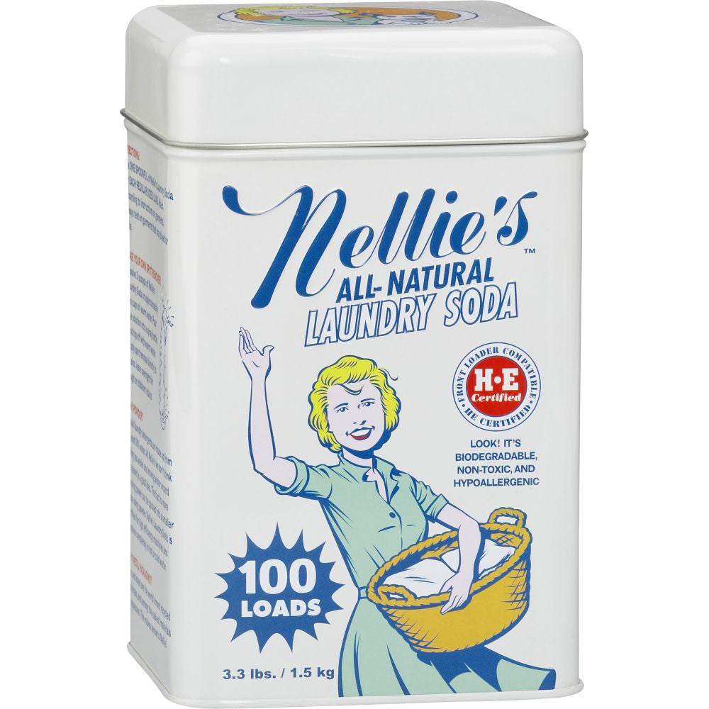 Nellie's All-Natural Laundry Soda - 100 Loads | Eartheasy.com