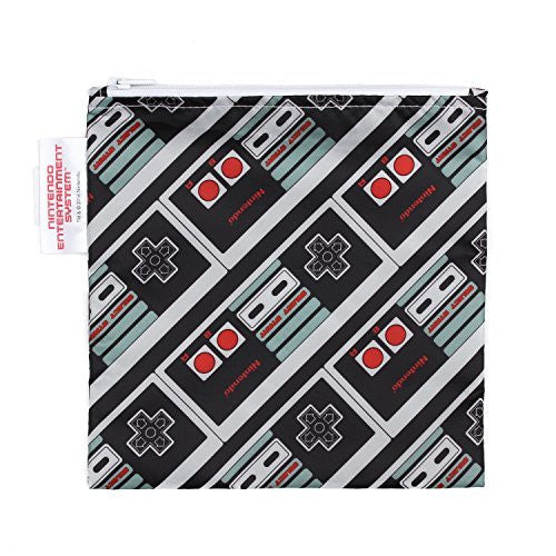 NES Controller, Bumkins Reusable Snack Bags - Large, www.bellylaughs.ca