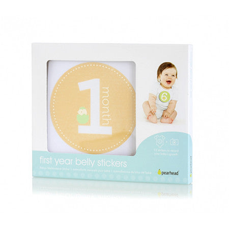 Pearhead Milestone Baby Stickers
