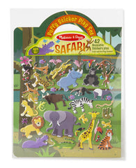 Safari, Melissa & Doug Puffy Stickers Play Set, www.bellylaughs.ca
