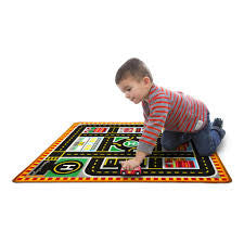 Melissa & Doug Round The City Rescue Rug & Vehicle Set  - Belly Laughs - A Children's & Maternity Boutique - Canada - 2
