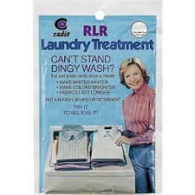 Single Use, RLR Laundry Treatment, www.bellylaughs.ca