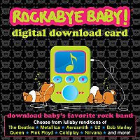 Rockabye Baby! Digital Download Card in Gift Package  - Belly Laughs - A Children's & Maternity Boutique - Canada - 2