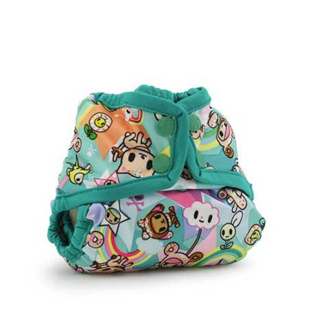 Rumparooz Newborn Cloth Diaper Cover Toki Sweet - Belly Laughs - A Children's & Maternity Boutique - Canada - 4