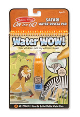 Safari Water Reveal, Melissa & Doug Water WOW! Books, www.bellylaughs.ca